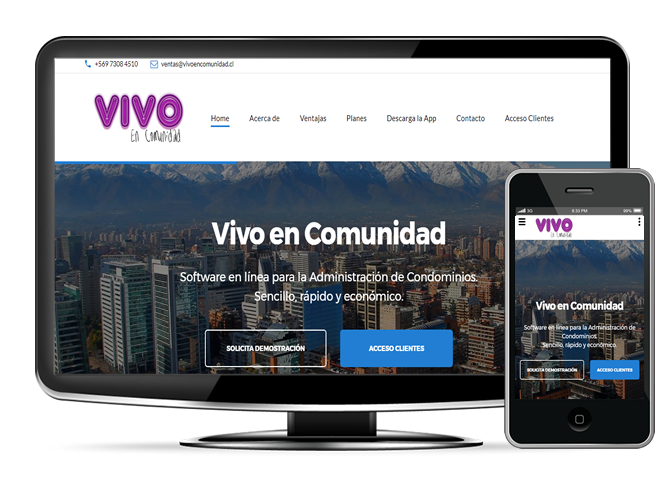 Vivo en Comunidad - Software para condominios